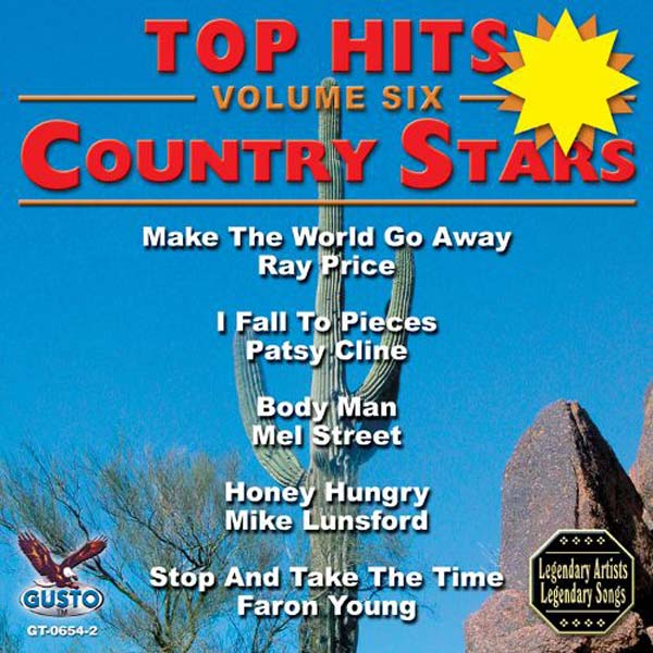 Top Hits, Volume 6: Country Stars (CD-5)