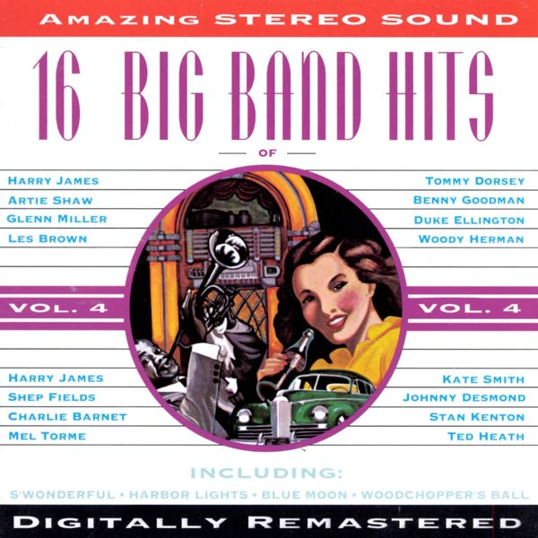 16 Big Band Hits, Vol. 4 (Cassette)