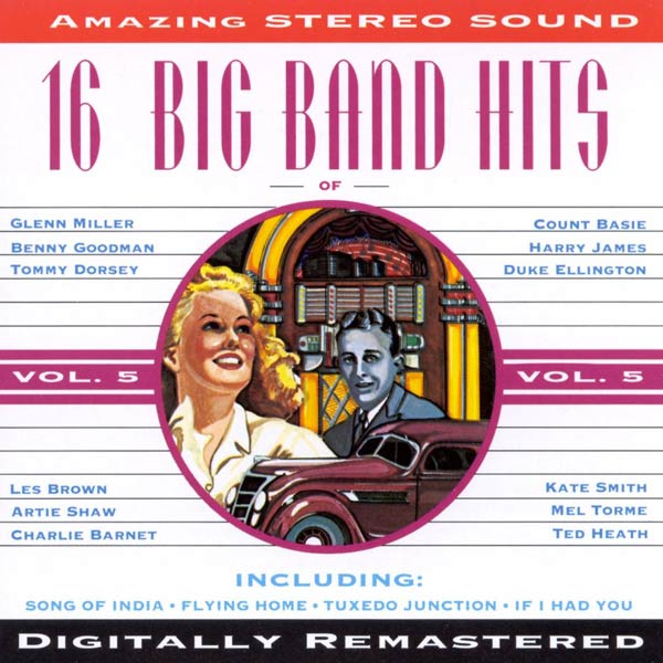 16 Big Band Hits, Vol. 5 (Cassette)