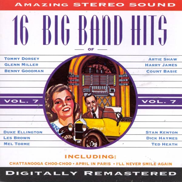 16 Big Band Hits, Vol. 7 (Cassette)