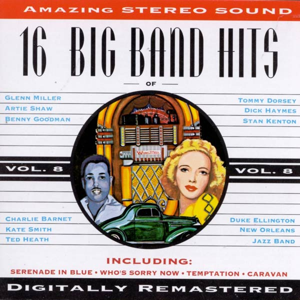 16 Big Band Hits, Vol. 8 (Cassette)