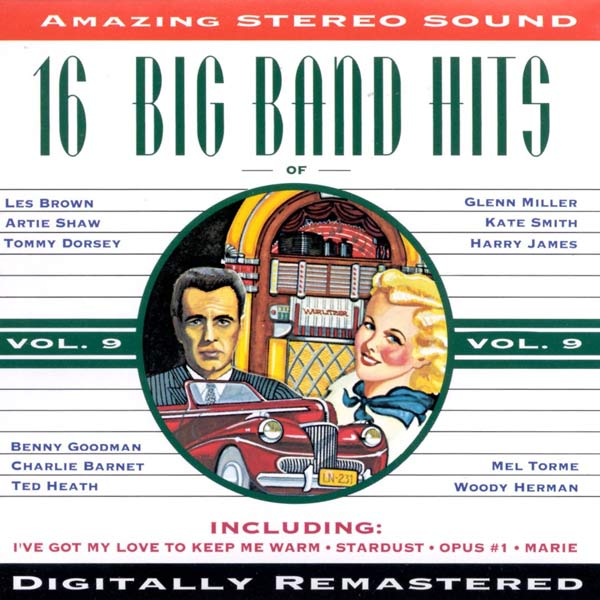 16 Big Band Hits, Vol. 9 (Cassette)