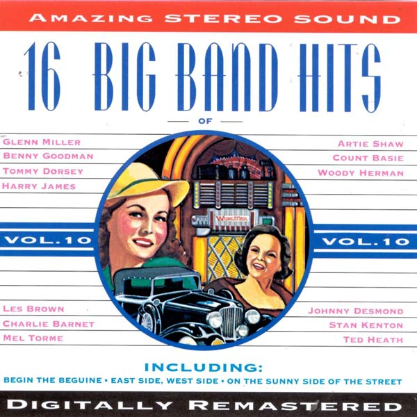 16 Big Band Hits, Vol. 10 (Cassette)