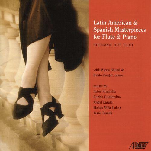34fa14e70c2 Latin American   Spanish Masterpieces for Flute   Piano