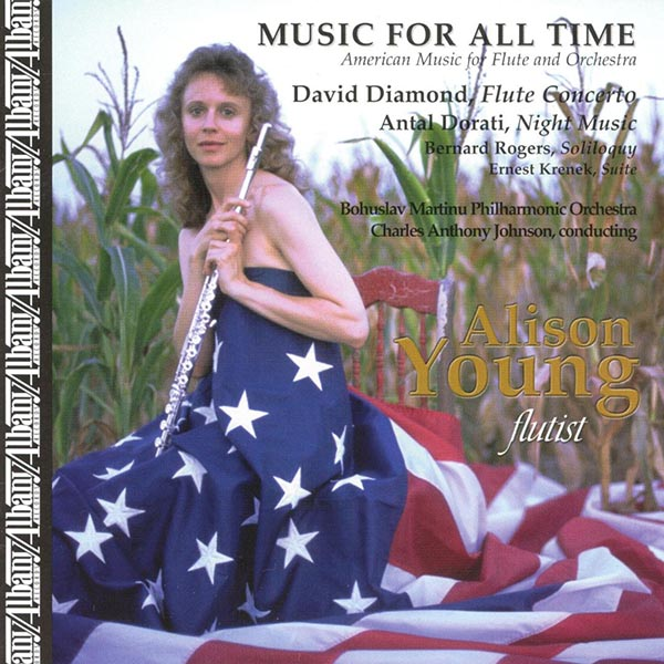 Music For All Time: American Music For Flute And Orchestra
