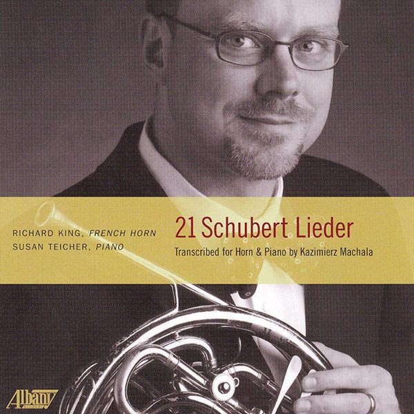 21 Schubert Lieder Transcribed for Horn & Piano