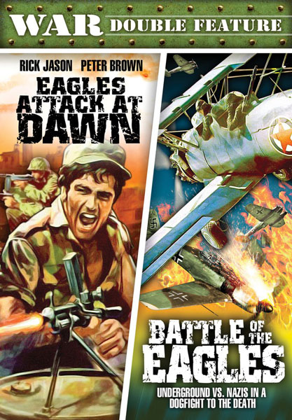War Double Feature: Eagles Attack At Dawn / Battle Of The Eagles (DVD)