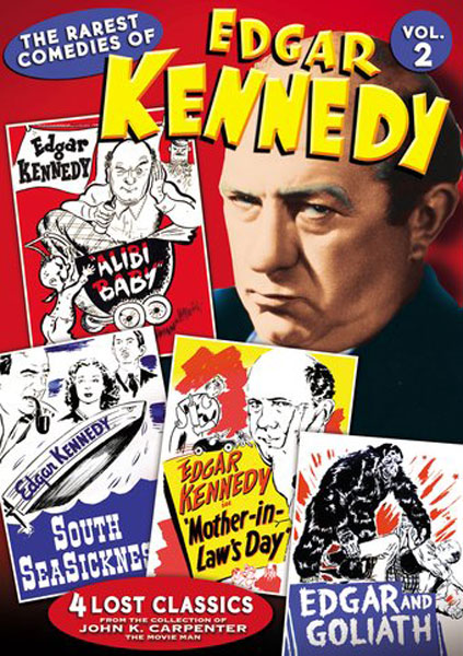 The Rarest Comedies Of Edgar Kennedy, Vol. 2 (DVD)