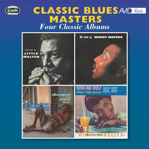 Classic Blues Masters: Four Classic Albums