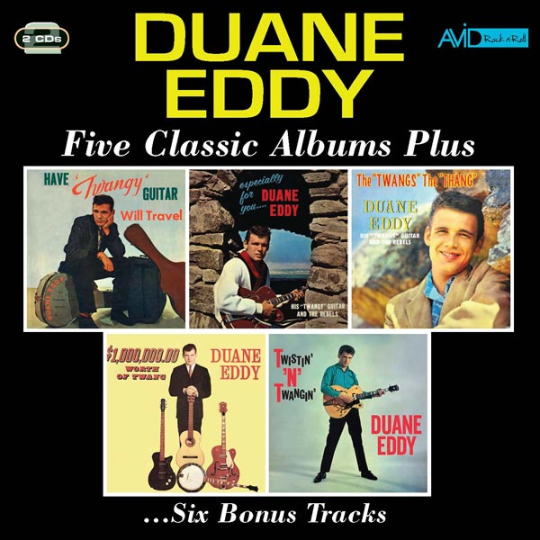 Duane Eddy: Five Classic Albums Plus ...Six Bonus Tracks