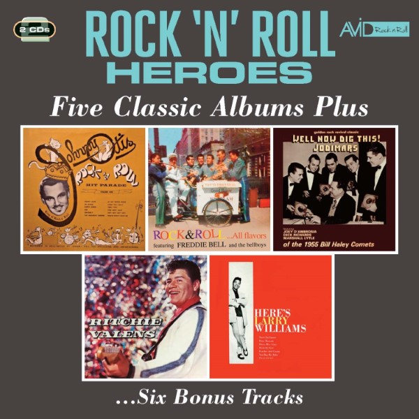 Rock N Roll Heroes: Five Classic Albums Plus ...Six Bonus Tracks (2 CD)