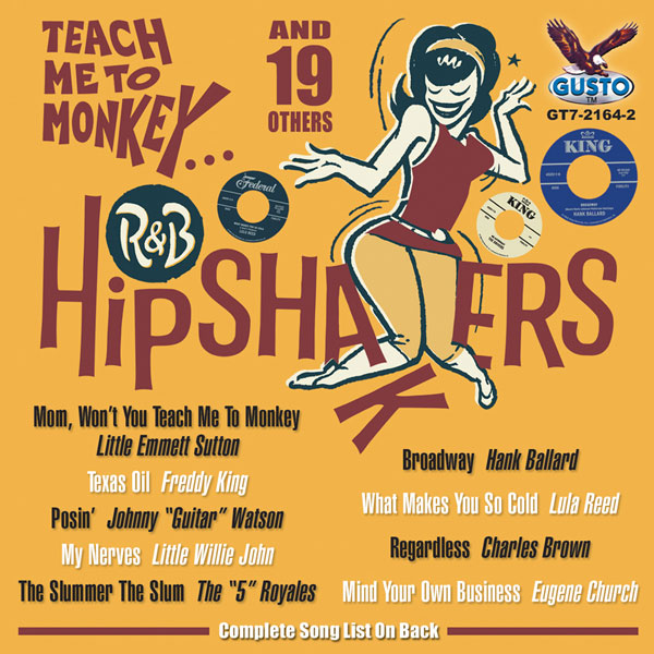 R&B Hipshakers: Teach Me To Monkey... And 19 Others