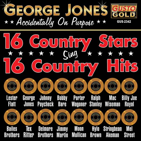 16 Country Stars Sing 16 Country Hits