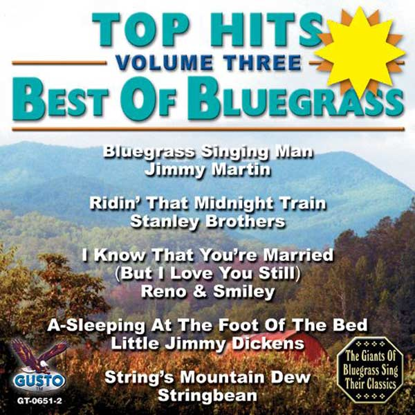 Top Hits, Volume 3: Best Of Bluegrass (CD-5)