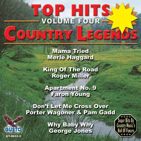 Top Hits, Volume 4: Country Legends (CD-5)