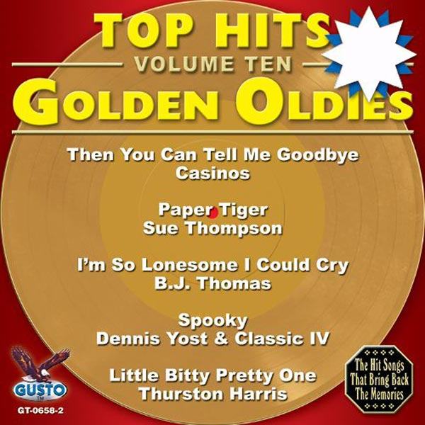 Top Hits, Volume 10: Golden Oldies (CD-5)
