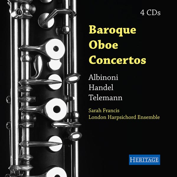 Baroque Oboe Concertos (4 CD)