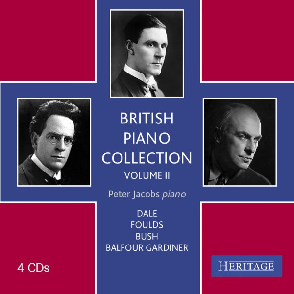 British Piano Collection, Volume 2 (4 CD)