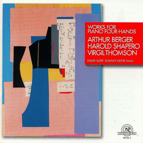 Works for Piano Four-Hands