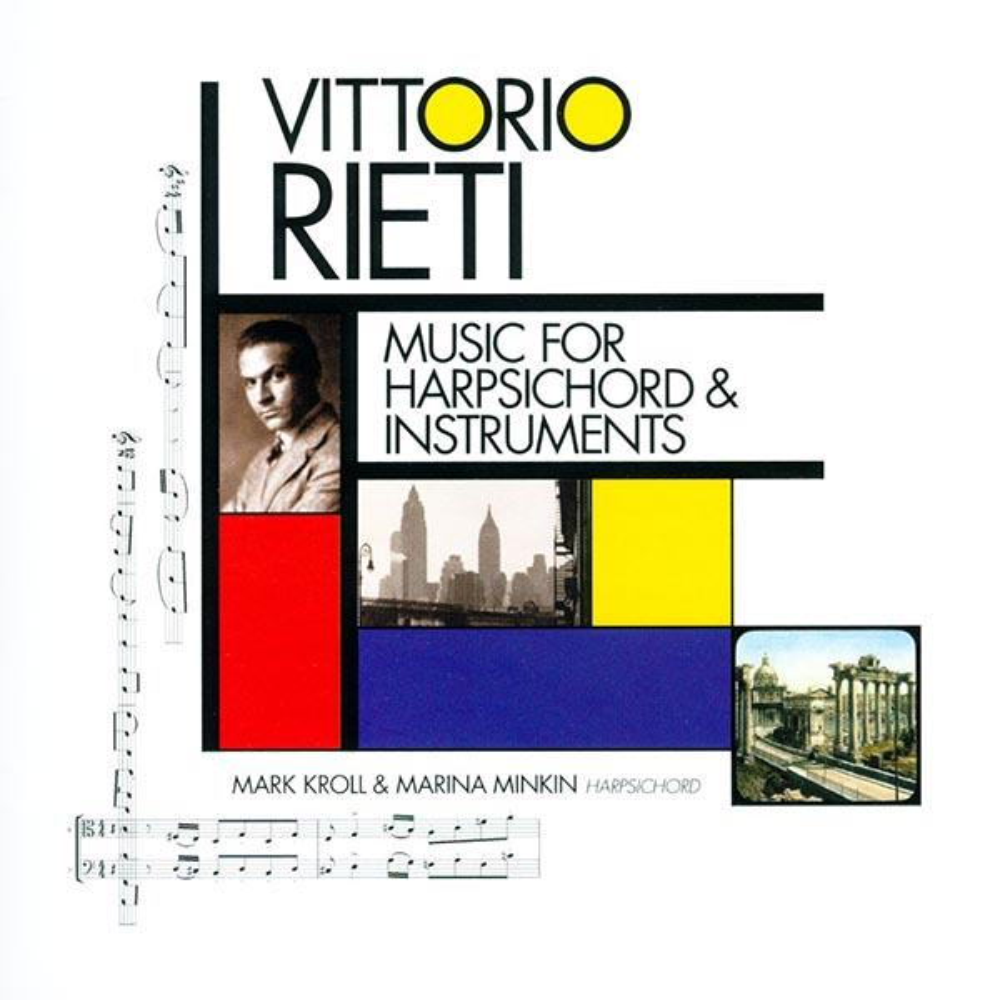 a66e49678a Vittorio Rieti: Music For Harpsichord & Instruments : Select-O-Hits