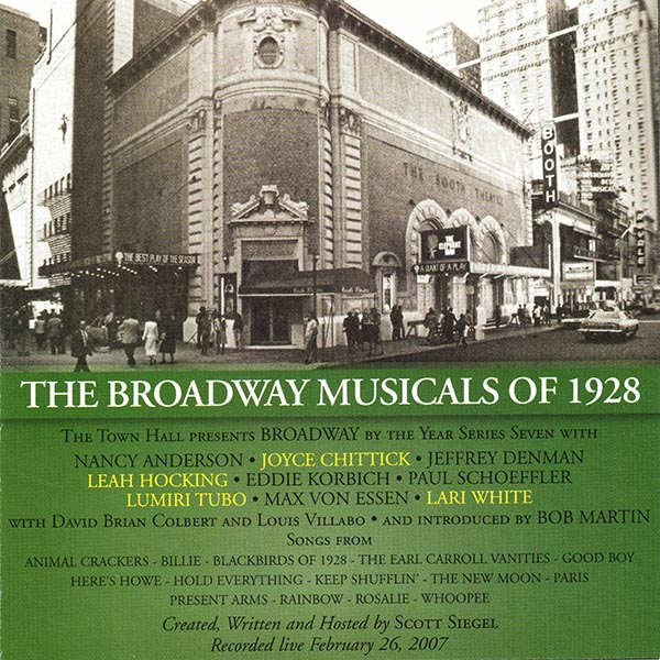 The Broadway Musicals Of 1928