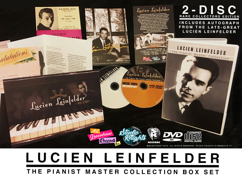 The Very Best Of Lucien Leinfelder: The Pianist Master Collection
