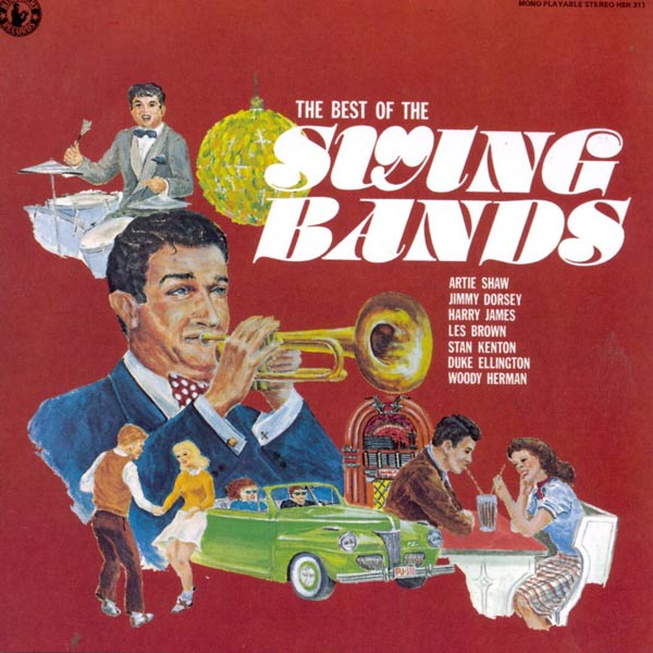 The Best Of The Swing Bands (Cassette)