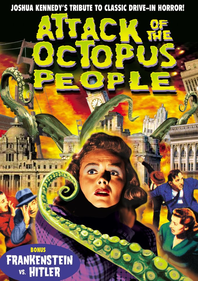 Attack Of The Octopus People (DVD)