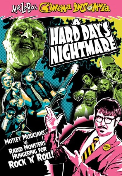 Mr. Lobo's Cinema Insomnia: A Hard Day's Nightmare (DVD)