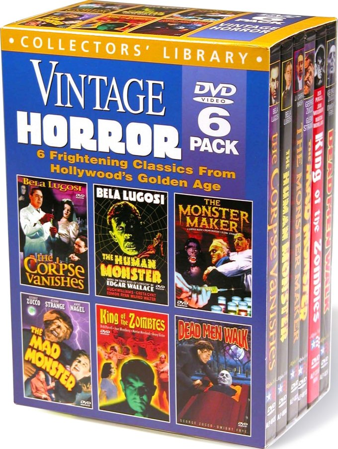Vintage Horror Collection (6 DVD)