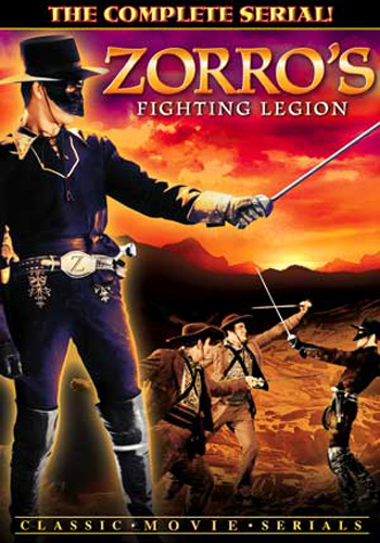 Zorro's Fighting Legion (Chapters 1-12)