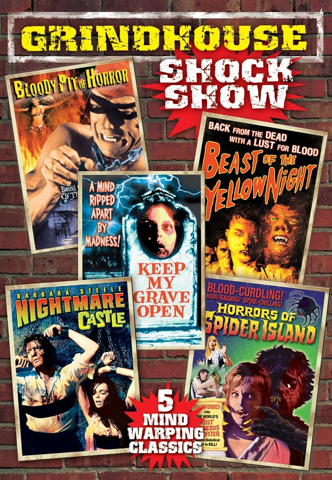 Grindhouse Shock Show (2 DVD)