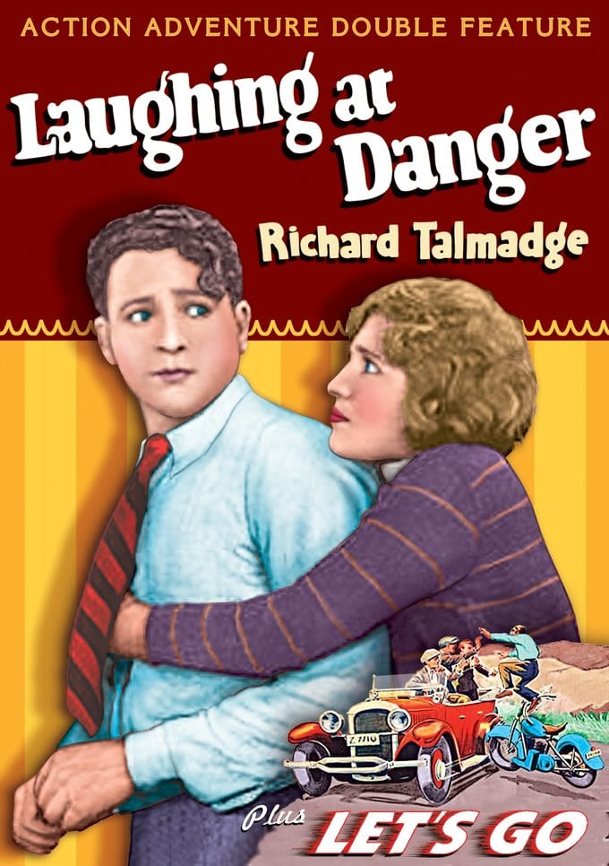 Action Adventure Double Feature: Laughing At Danger / Let's Go (DVD)
