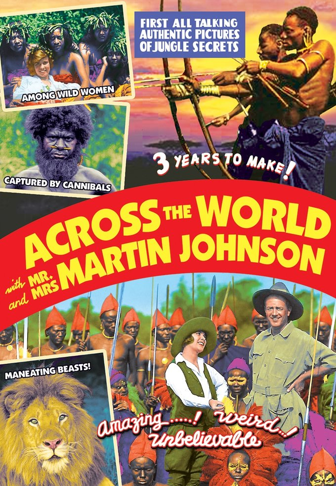 Across The World With Mr. And Mrs. Martin Johnson (DVD)