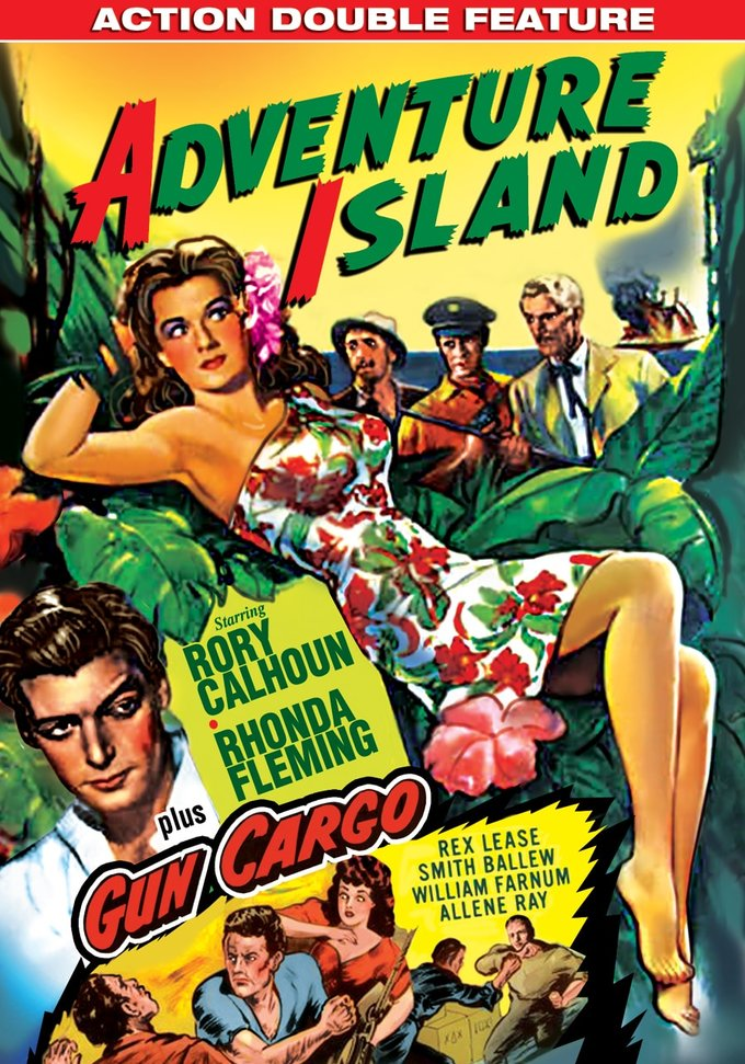 Action Double Feature: Adventure Island / Gun Cargo (DVD)