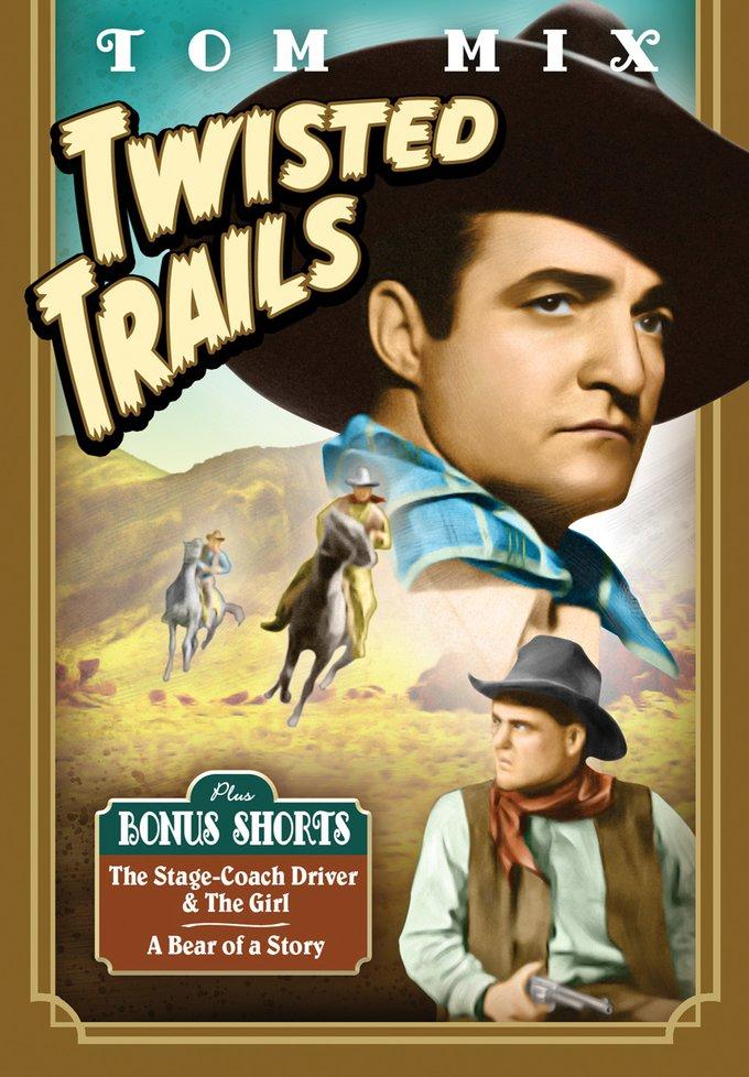 Tom Mix Twisted Trails (DVD) : Select-O-Hits
