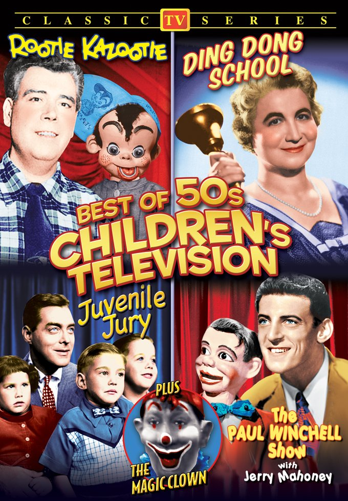 Best Of 50s Children's Television (DVD)