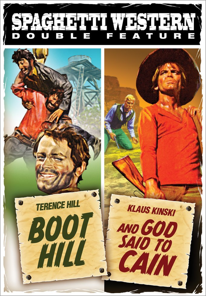 Spaghetti Western Double Feature: Boot Hill / And God Said To Cain (DVD)