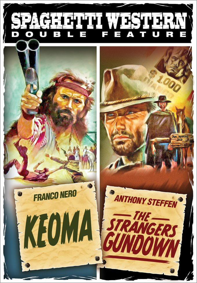 Spaghetti Western Double Feature: Keoma / The Strangers Gundown (DVD)
