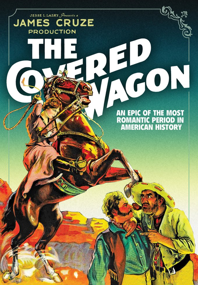 The Covered Wagon (DVD)