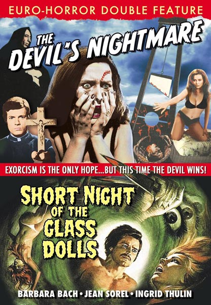 Euro-Horror Double Feature: The Devil's Nightmare / Short Night Of The Glass Dolls (DVD)