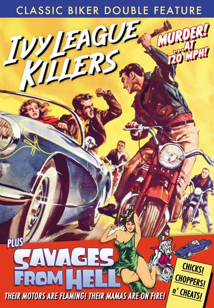Classic Biker Double Feature: Ivy League Killers / Savages From Hell (DVD)