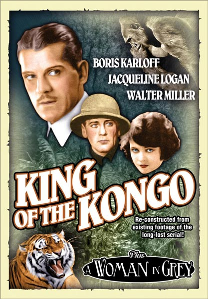 The King Of The Kongo / A Woman In Grey (DVD)