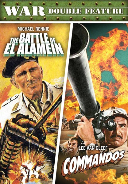 War Double Feature: The Battle Of El Alamein / Commandos (DVD)
