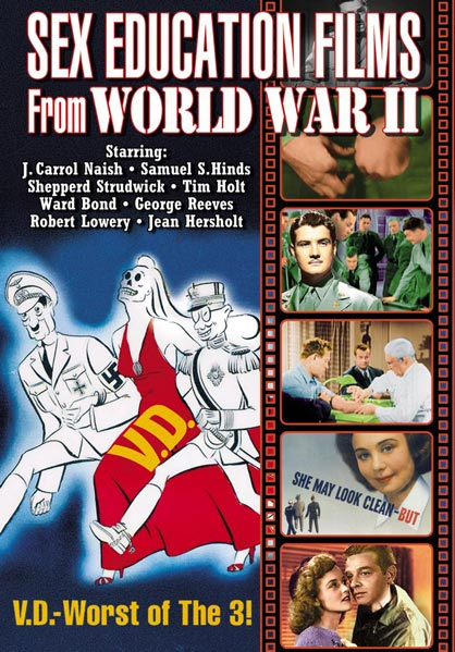 Sex Education Films From World War II (DVD)