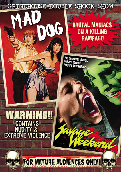 Horror Double Feature: Mad Dog / Savage Weekend (DVD)