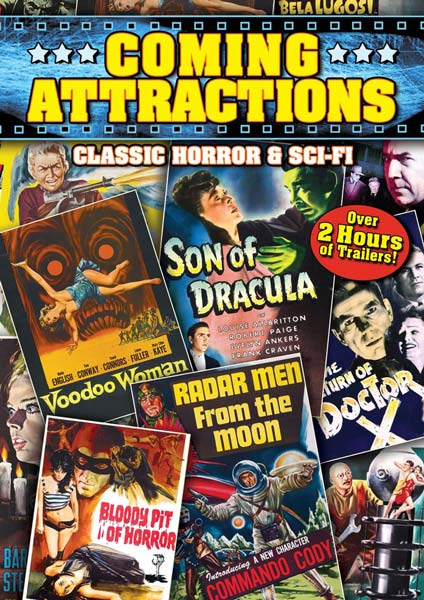 Coming Attractions: Classic Horror & Sci-Fi (DVD)