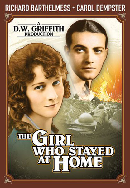 The Girl Who Stayed At Home (DVD)