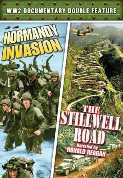 WW2 Documentary Double Feature: Normandy Invasion / The Stillwell Road (DVD)