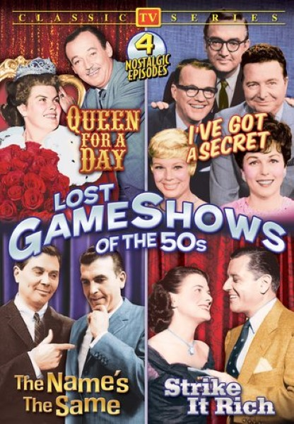 Lost Game Shows Of The 50s (DVD)